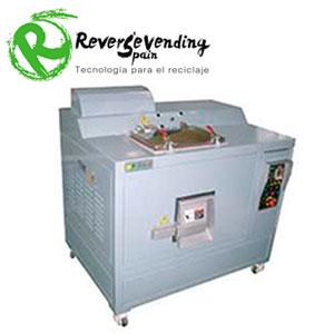 El sistema de tratamiento de residuos orgánicos utiliza una tecnología patentada para transformar los residuos alimentarios mixtos y otros residuos orgánicos en un residuo seco esterilizado.