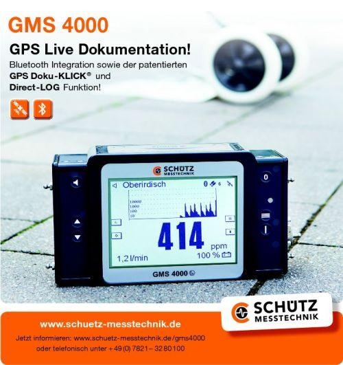 The innovative GMS 4000 device has been equipped with the most up-to-date connectivity and can carry out the network operator's entire range of measurement and monitoring tasks.