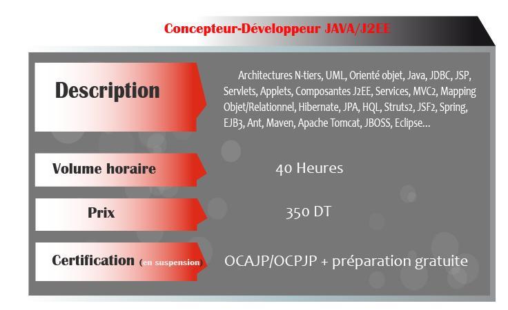 formations JAVA / J2EE