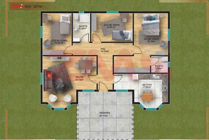 EXAMPE HOUSE PLAN