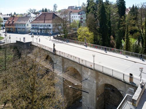 Hochbrücke, Rottweil, Deutschland