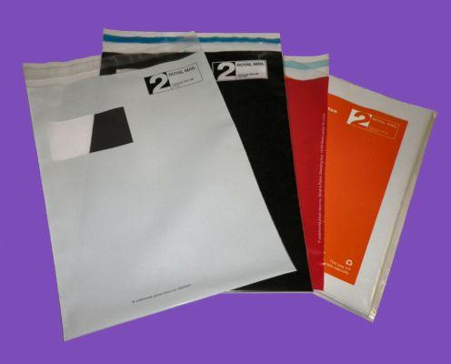 Our Printed Mailing Bags and Secure Mailing Bags can be designed around you. We use a variety of films and can produce a wide variety of sizes.