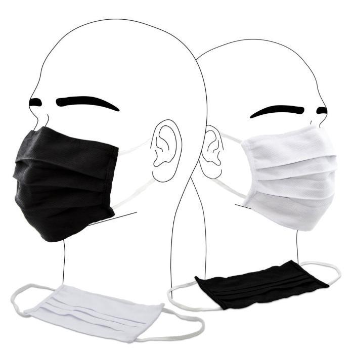 Masques de protection en tissu lavable