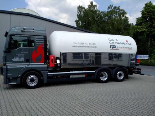 Flüssiggas, Autogas, Flüssiggasanlagen