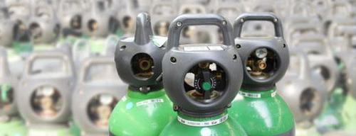 Integra®-Schweißgasflasche Druckminderer
