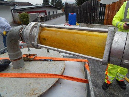 Reinigung von Rohrleitungen
