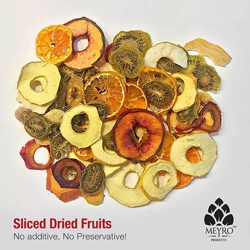 Sliced Mango, Plum, Peach, Apple, Banana, Persimmon, Tangerine, Orange, Kiwi