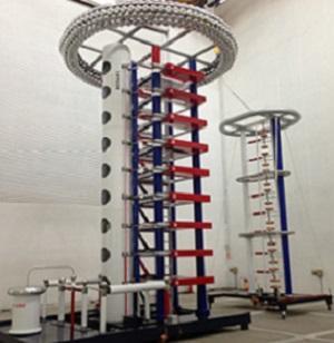 Генератор импульсных напряжений для испытания электрической прочности изоляции трансформаторов, изоляторов, кабелей, реакторов и др по ГОСТ 1516 коммутационным и грозовым импульсом