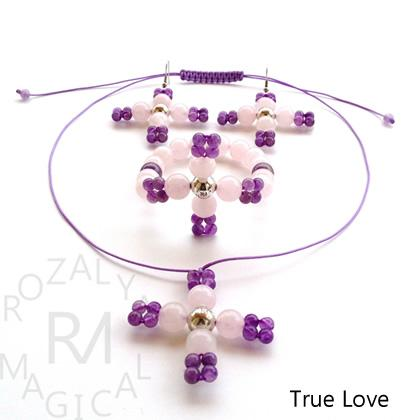 Bracelets, necklaces and earrings