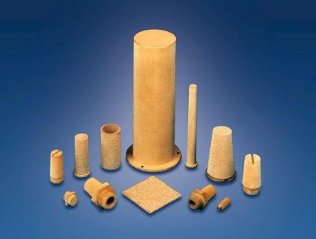 From this material we produce seamless and welded plates, tubes, discs, shaped parts, filter candles, fluidization units/elements etc. applications such as filtration, bulk handling, silencing etc