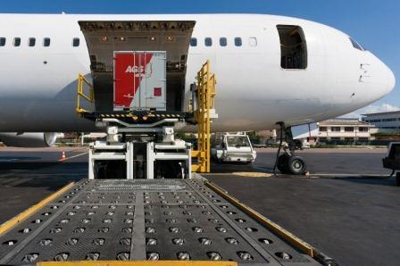 AGS Brest - air shipment