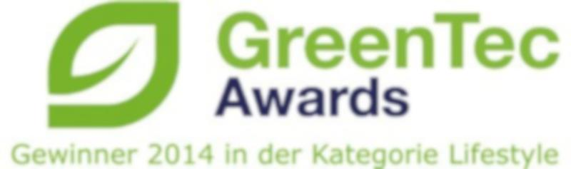 GreenTec Award in der Kategorie Lifestyle