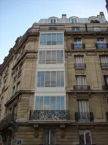 Bow-window 4 étages RP TECHNIK gamme Fineline