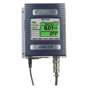 X-PAQ CT2500 controller features large, color touch screen for intuitive setup, eliminating the need for external software. Save and export tightening data online or via USB drive. 32 tasks available