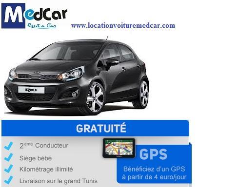 MedCar garanti un service personnalisé, un large choix des services de location ainsi que la possibilité de consulter les tarifs et de réserver en ligne www.locationvoituremedcar.com