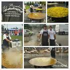 Giants Paellas cookers giving services all south europe ( Spain,France, Italia ;Portugal )