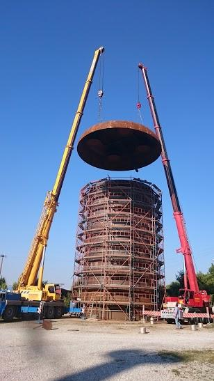 10500mm erection