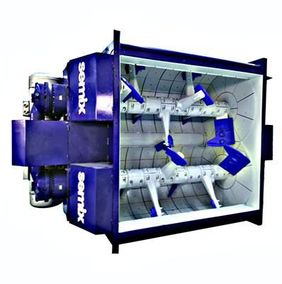 Twin Shaft Mixer Inside View