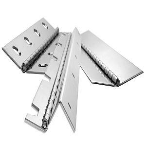 Additional examples of our make to order custom hinges.  We have numerous value-added capabilities; see our website for further information.