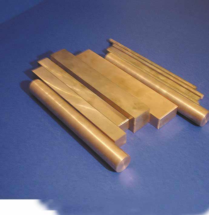 Tungsten and copper bars