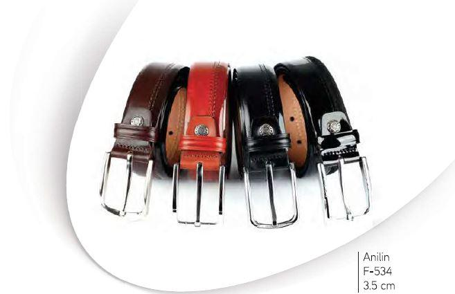Classic Leather Belt 005