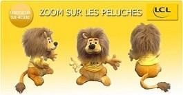 Fabricant peluches publicitaires. Plush toys manufacturer. Peluches LCL Tour de France. Custom Stuffed Toy.