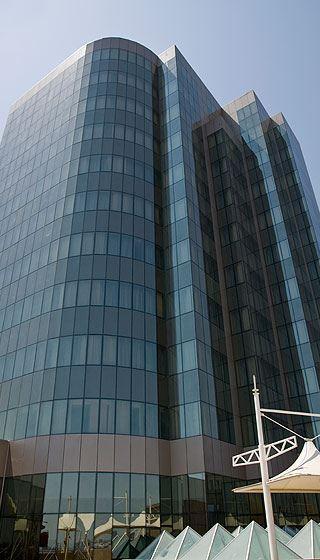Architectural Aluminium Facade by Simin Metal at Golden Coast Hotel Baku Azerbaijan