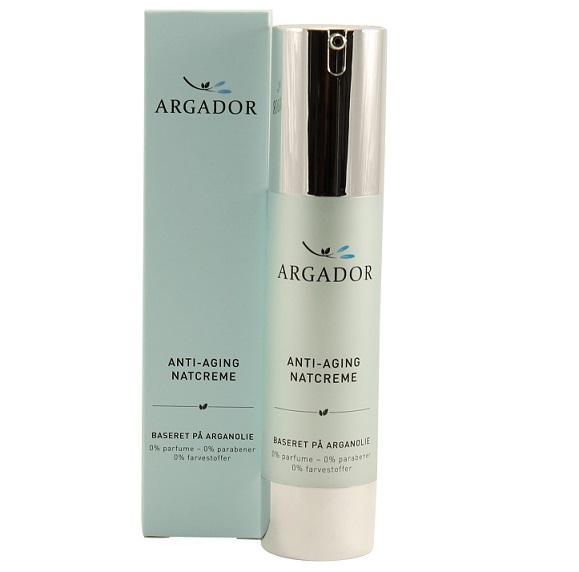 Argador Anti-aging Night Cream with argan oil