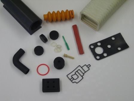 Gummi Formteile nach Zeichnung aus allen handelsüblichen Materialien