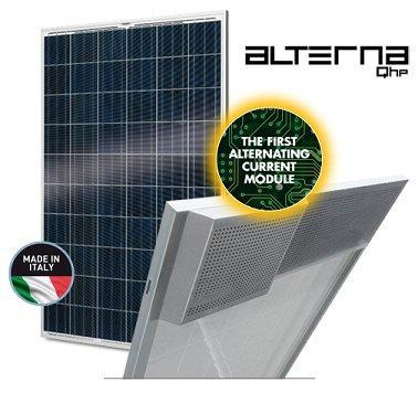 The first alternating current Photovoltaic modules are supplied with only positive tolerance 0/+6, provided with quick plug & play connections. Warranties until 25 years on power.