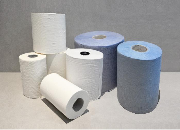 Reinigungs- und Handtuchrollen