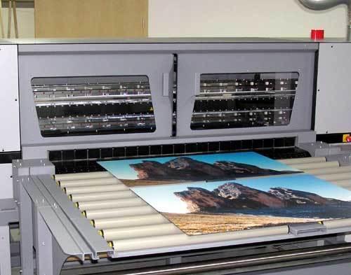 UV Plattendruck Digital
