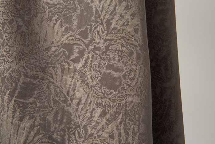 ENCA Moire jacquard satin tigre damas coton viscose