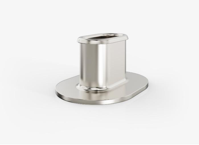 Stützhülsen zur Konststoffverstärkung / runde und ovale Buchsen / Tiefziehteile