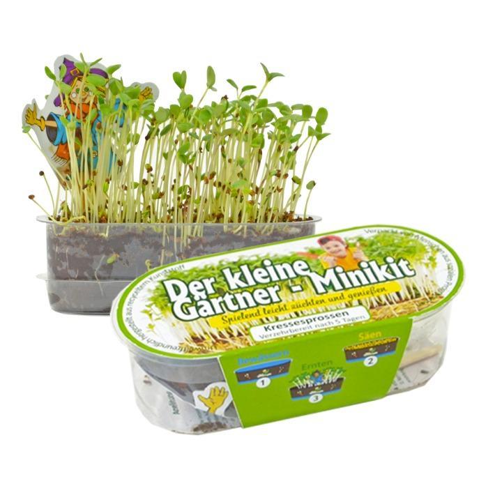Der kleine Gärtner, Kresse-Set