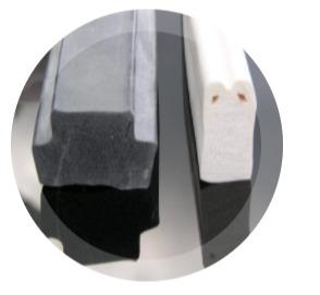 Silikonschaum-Profile
