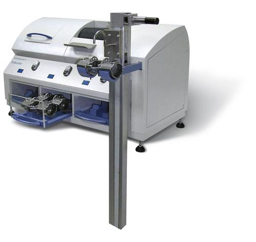 The Extensograph®-E measures the stretching properties of dough, in particular its resistance to extension and its extensibility in order to make reliable statements about its baking behaviour