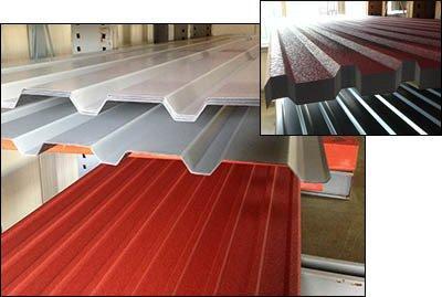 Trapezbleche für Dachverkleidungen