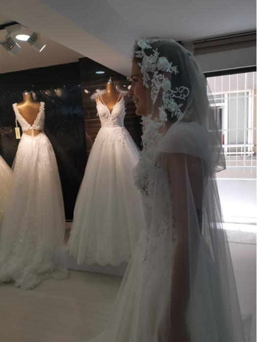 Wedding Dress With Hood