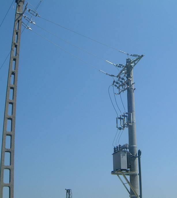 Overhead transformer substation kit 20/0.4kV