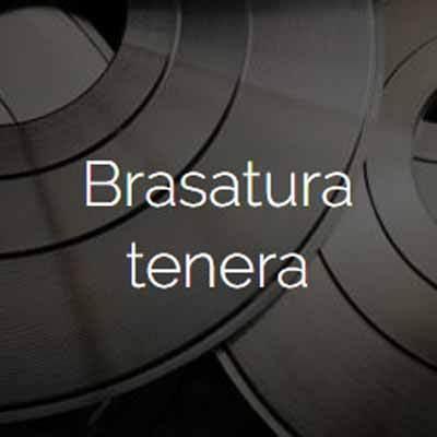 BRASATURA TENERA E AL FOSFORO