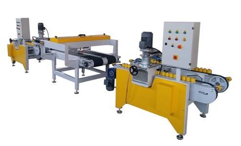 Bullnose bevelled machine