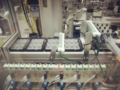 Contact lens Assembly Machine
