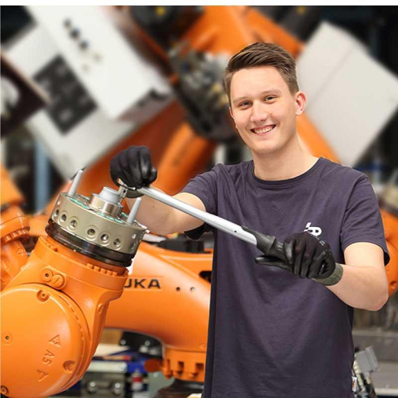 IPR bietet alles, was Roboter zum Arbeiten brauchen.