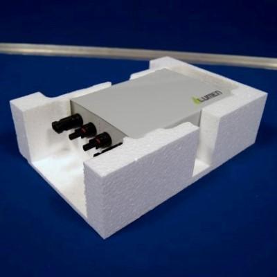 Verpakking in EPS (piepschuim) op maat van PID-box.