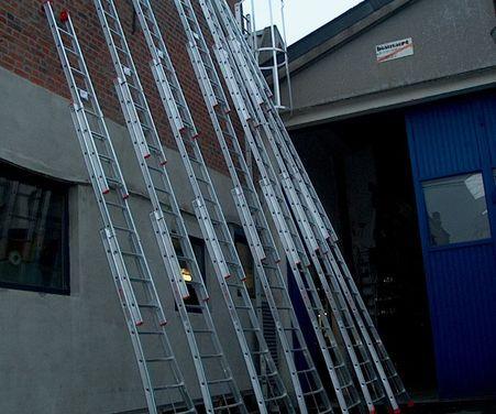 Vente d'échelles professionnelles Hainaut