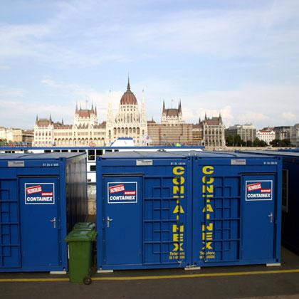 Hire cabins, Red Bull Air Race Budapest
