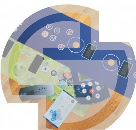 Produzione dei pannelli frontali in policarbonato e poliestere e delle tastiere a membrana ad alta tecnologia.
