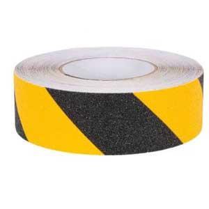 Anti slipping tape 50 mm x 18.3 meters Yellow - Black