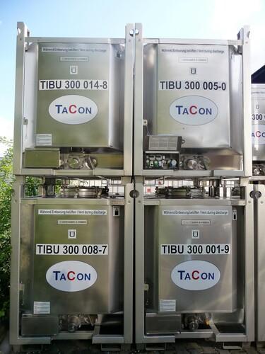 Beheizbare IBC, 1000 Liter